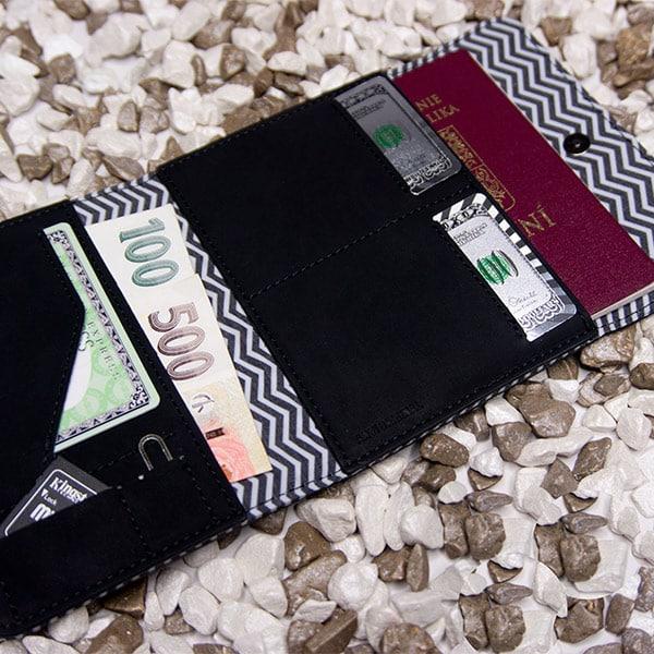 Cestovní peněženka Xpress černá