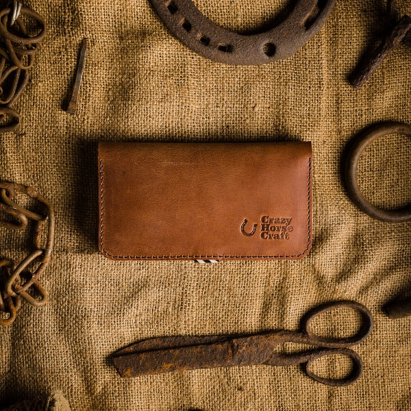 kvalitní kožený obal a peněženka na iphone