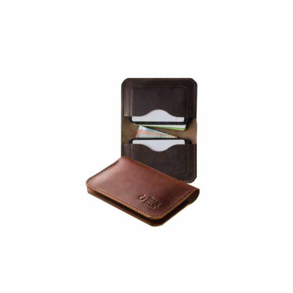 Kožená peněženka na karty