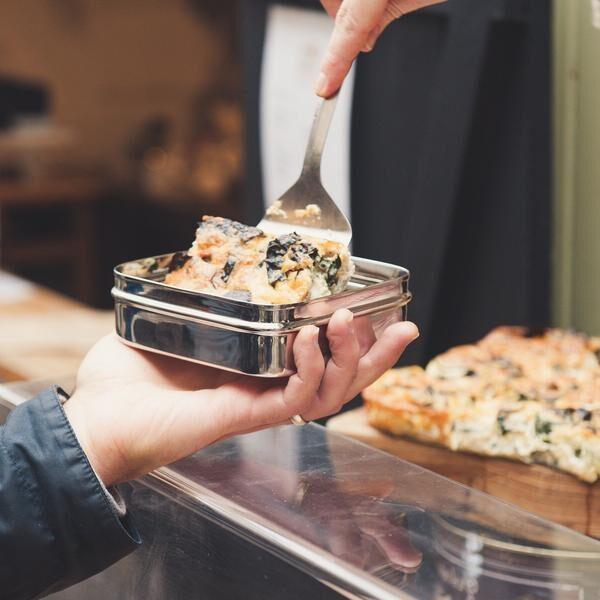 ideální krabička na jídlo na cesty