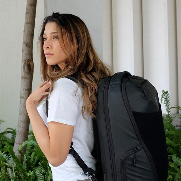 Cestovní batoh Oxna černý unisex