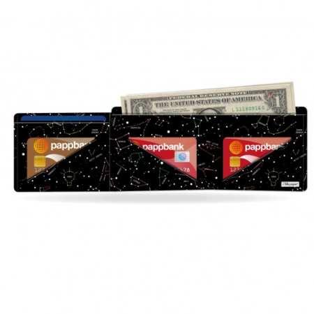 Papírová peněženka Konstalace na karty a bankovky