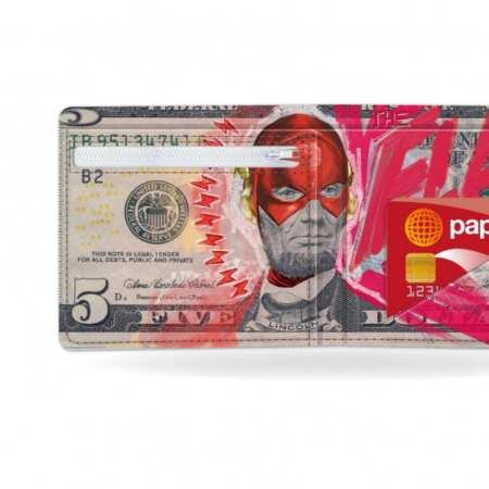 Papírová peněženka Flashlight kapsička na drobné