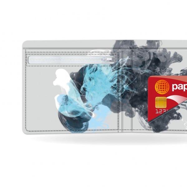 Papírová peněženka Jellyfish detail