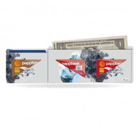 Papírová peněženka Jellyfish na karty a bankovky