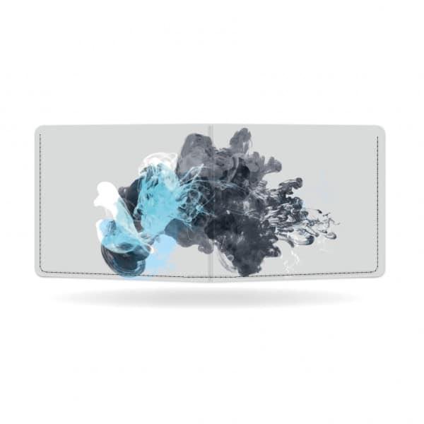 Papírová peněženka Jellyfish zezadu