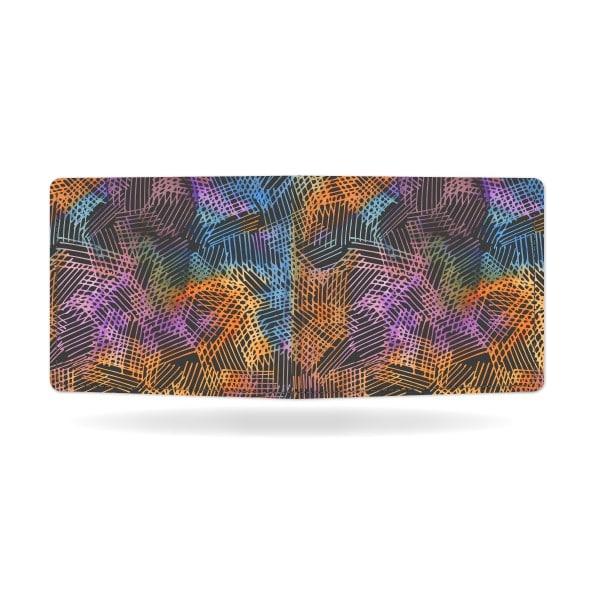 Papírová peněženka Půlnoční kresba zezadu