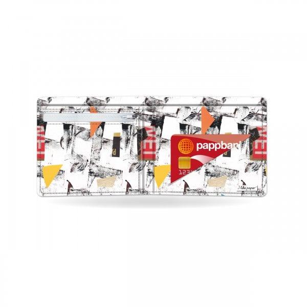 Papírová peněženka Síť otevřená