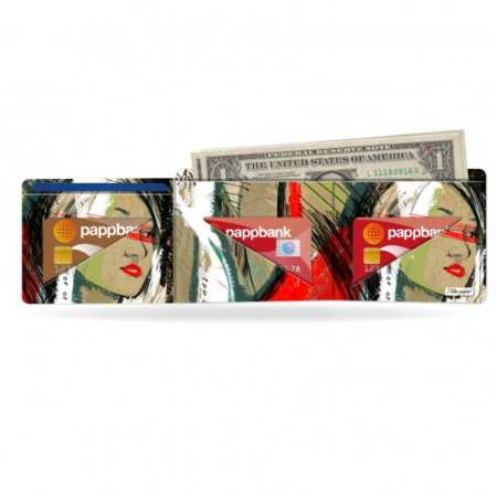Papírová peněženka Moment na karty a bankovky
