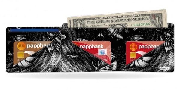 Papírová peněženka Butterfly Effect