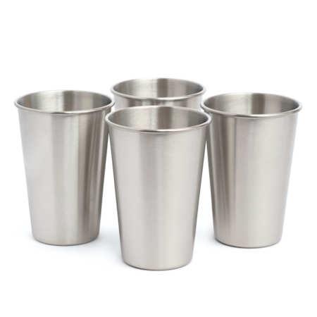 Nerezové pohárky