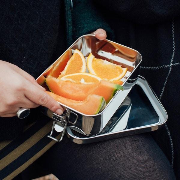 Nerezový box na jídlo