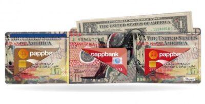 Papírová peněženka Temný rytíř