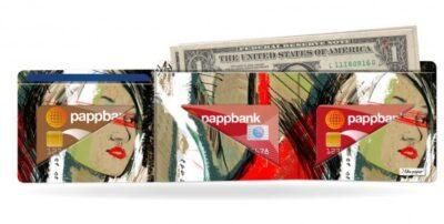 Papírová peněženka Moment