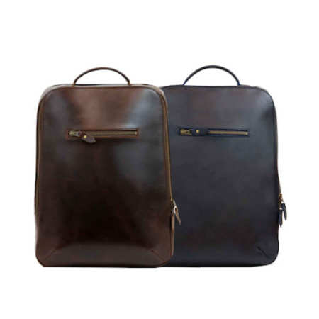 kožený batoh z pravé kůže