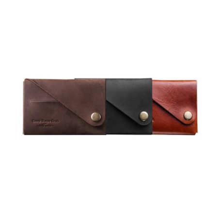 Minimalistická kožená peněženka