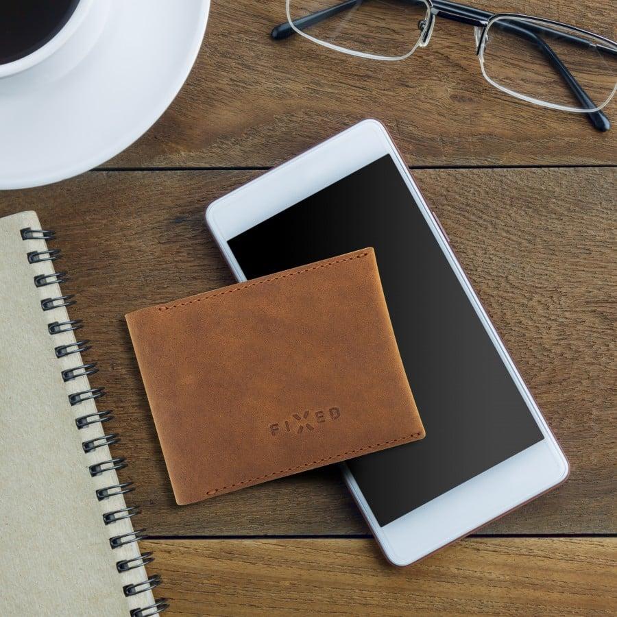 chytrá malá kožená peněženka