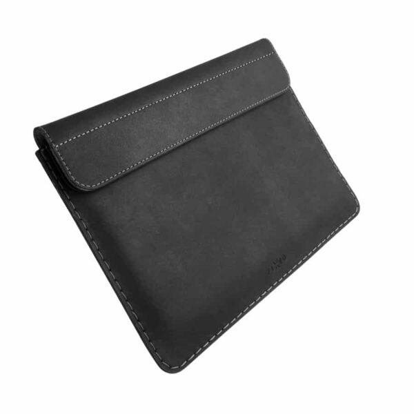 černé kožené pouzdro ipad Fixed