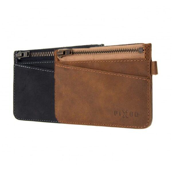 Chytrá kožená peněženka Fixed Smile Coins