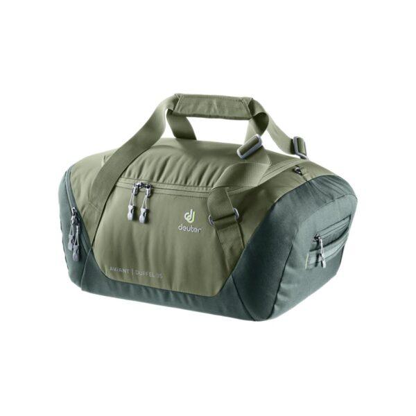 Cestovní taška Deuter Aviant Duffel 35 zelený