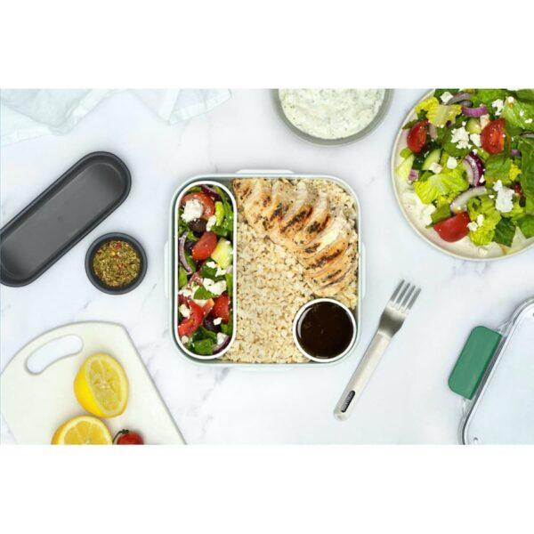 Těsnící obědový box Black+Blum Original na jídlo