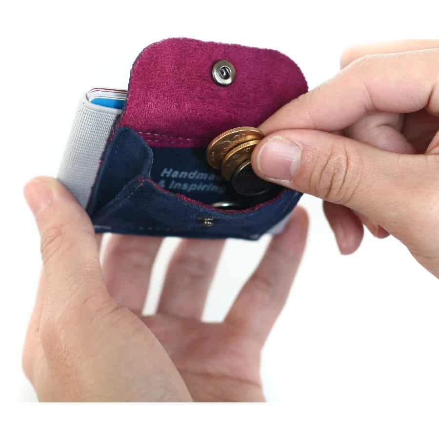 Slim peněženka na mince a karty
