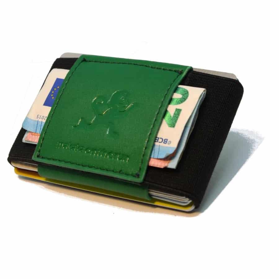 zelená Slim peněženka