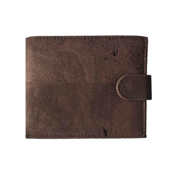 hnědá Korková peněženka Zorita