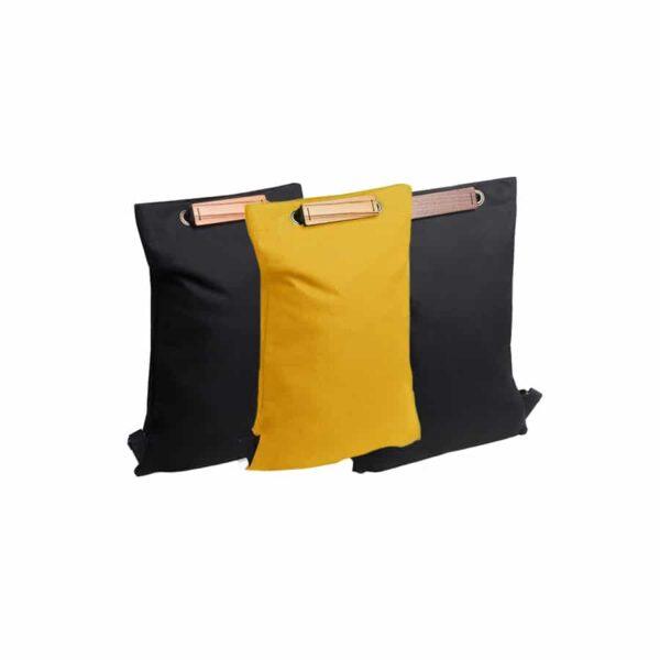 Dámské batohy bewooden barevné varianty nox lini cognac