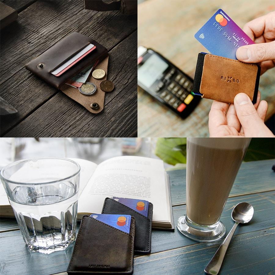 Minimalilstické peněženky Urban Master