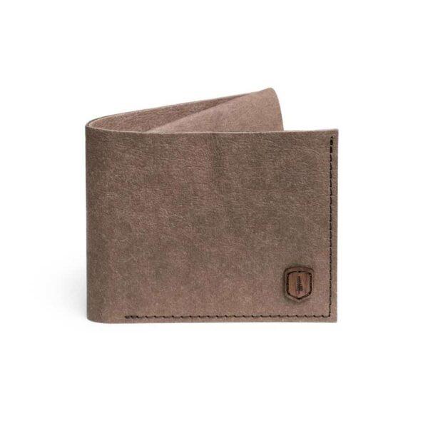 Papírová peněženka Bewooden hnědá