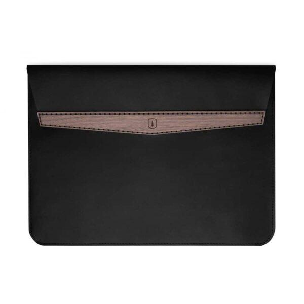 """Kožené pouzdro na MacBook 13"""" Bewooden elegantní"""