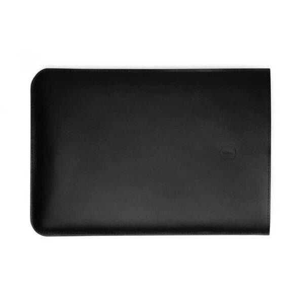 """Kožený obal na MacBook 13"""" Bewooden černý"""