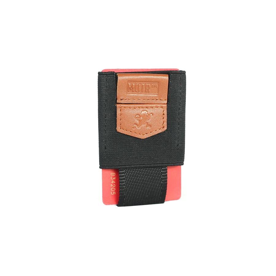 minimalistická pull tab peněženka