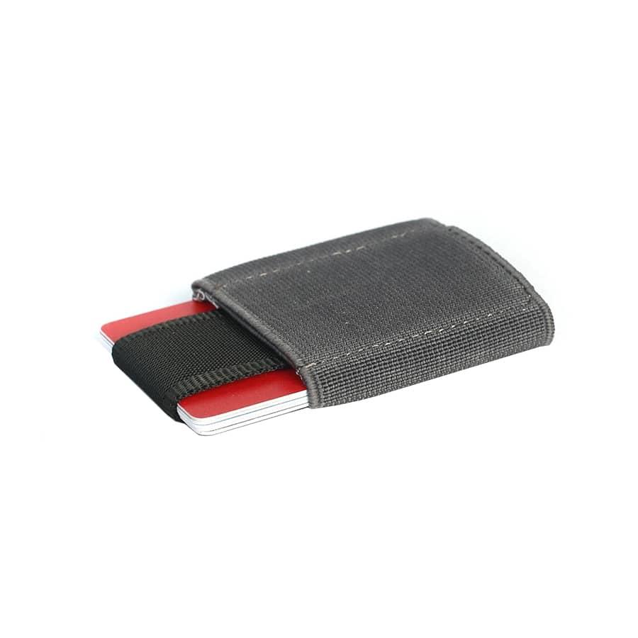 Vysouvací peněženka šedá na karty