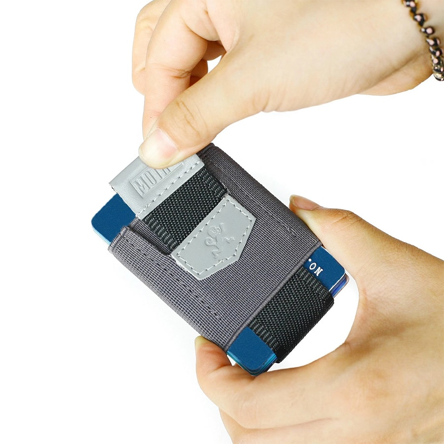 pull tab peněženka na karty