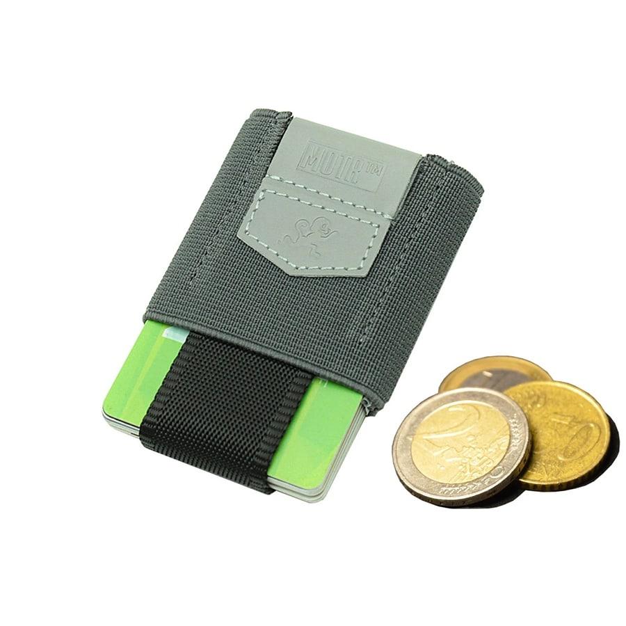 pull tab peněženka šedá