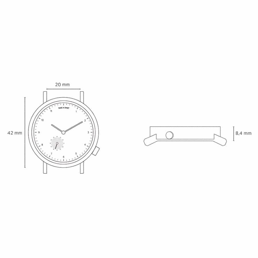 Velikost hodinek