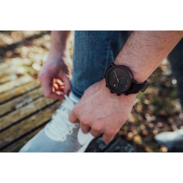 Pánské hodinky s koženým řemínkem pro muže