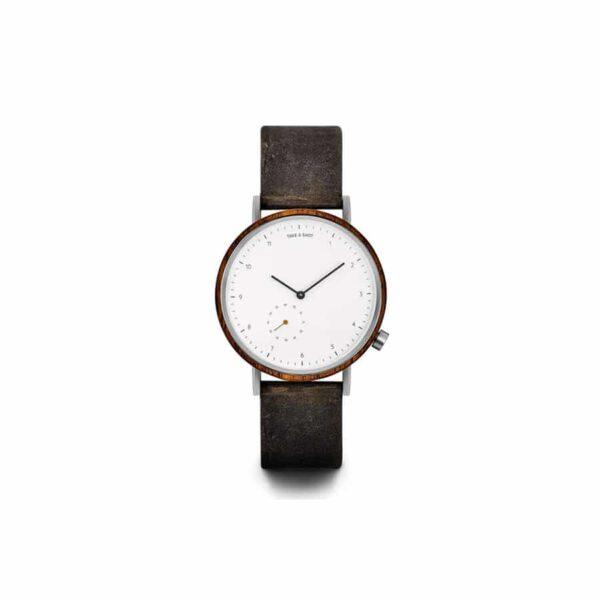 Pánské hodinky s koženým řemínkem TAS George