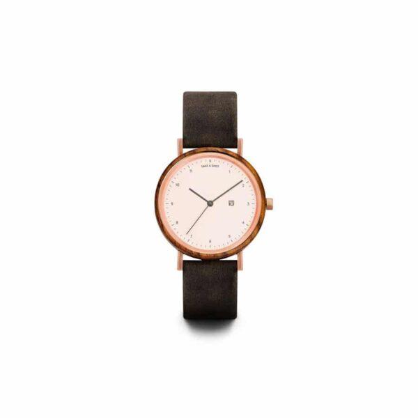 Dámské hodinky s koženým řemínkem TAS Nana