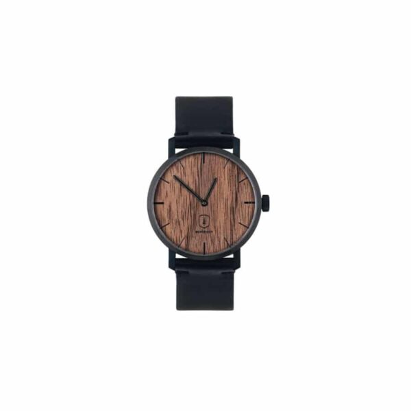 Dřevěné hodinky Bewooden Nox Watch
