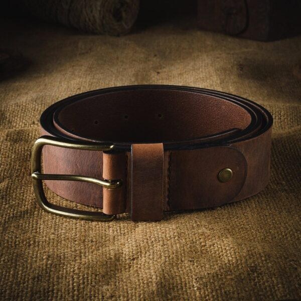 Pánský kožený pásek v.11 Crazy Horse Craft