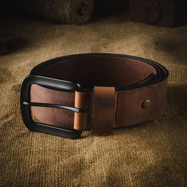 Pánský kožený pásek v.09 Crazy Horse Craft