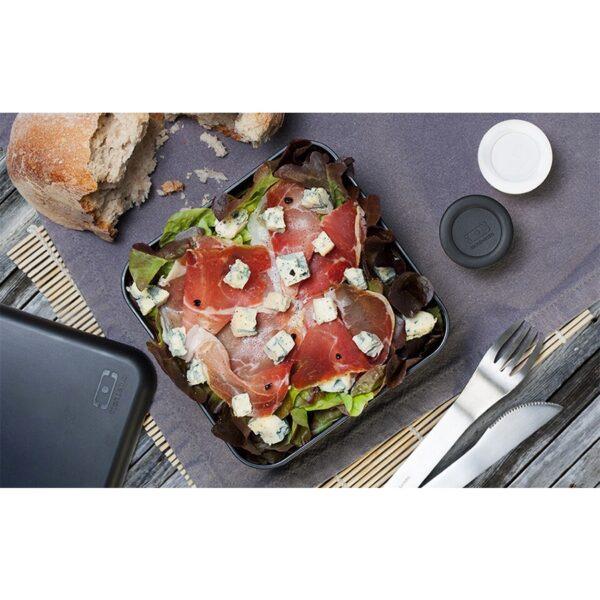 velký černý Obědový box Monbento Square