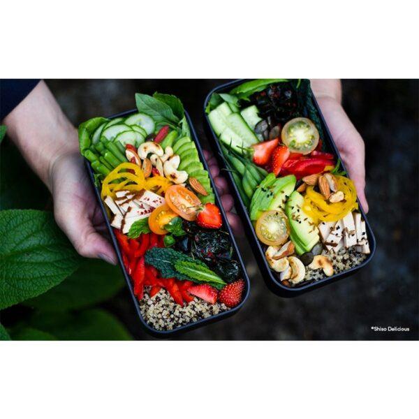 černý Onyx Obědový box Monbento Original