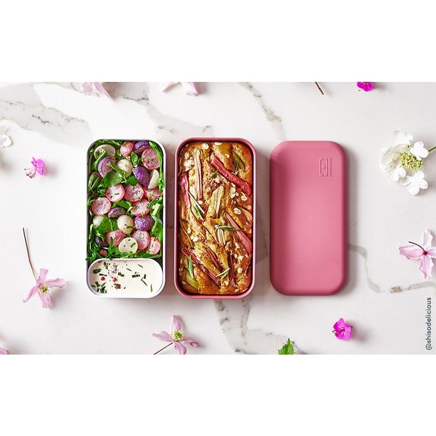 růžové krabičky na jídlo