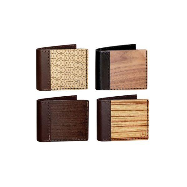 Dřevěná peněženka Bewooden Virilia
