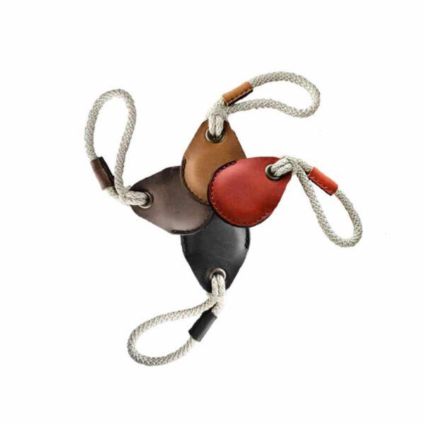 Kožená klíčenka na Apple Airtag